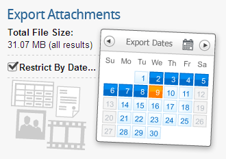Export Attachments