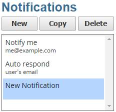 Multiple Notifications