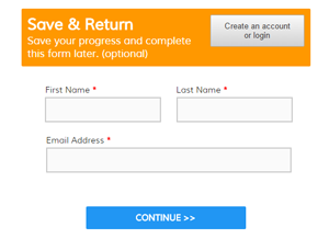 Save & Return Form Item