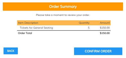 Order Forms Sample