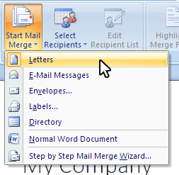 Formsite Word Mail Merge
