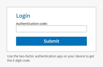 Formsite features 2fa login