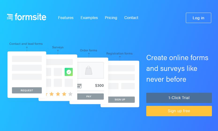 Formsite redesign
