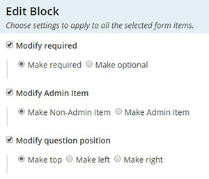 Formsite form editor tips multi-select edit options