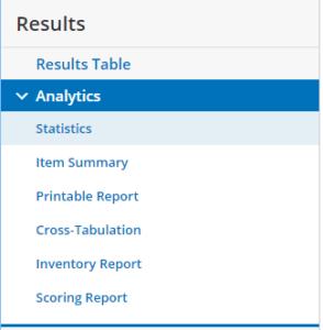 Formsite analytics