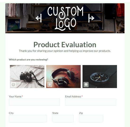 Formsite custom branding