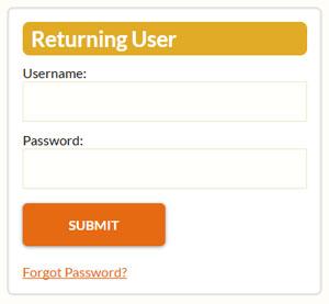 Formsite password Save & Return