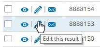Formsite resend edit result