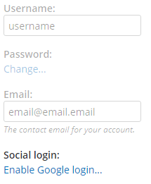 Formsite release social login