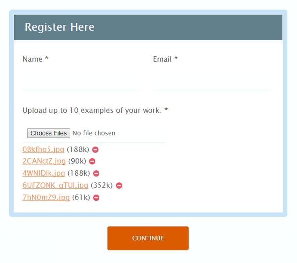 Formsite multiple file uploads