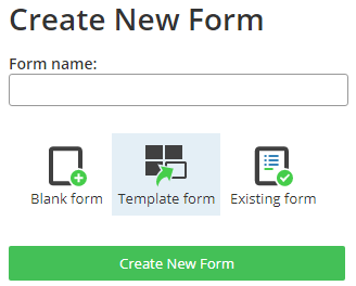 Formsite form templates new form