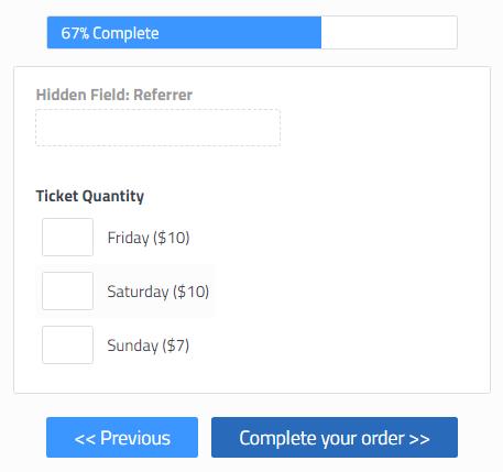 Formsite send additional order information
