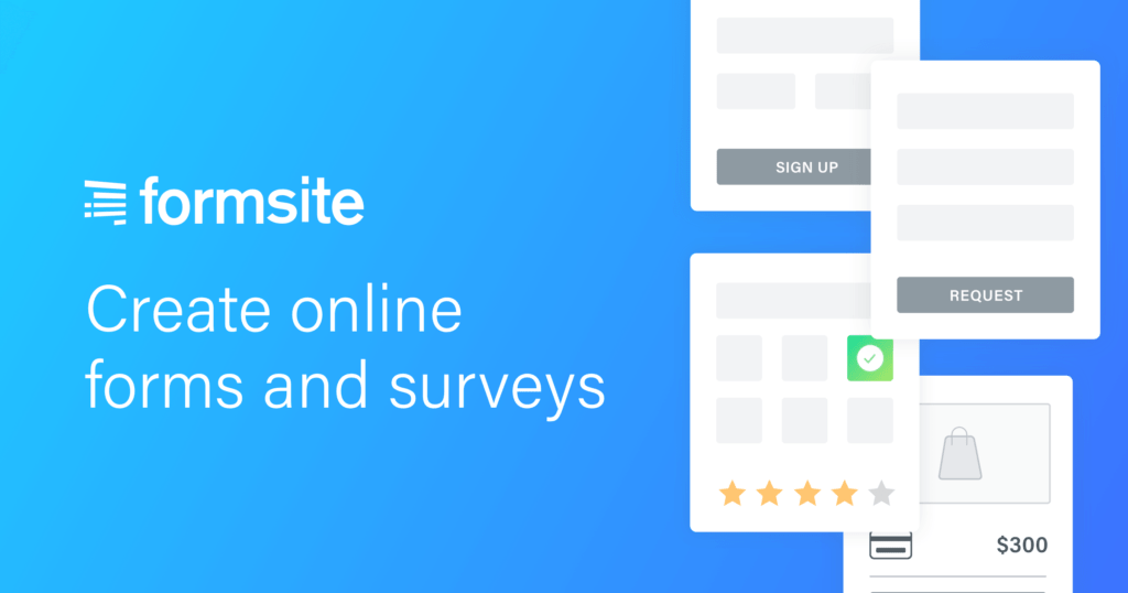 Formsite - Online Form Builder  Create HTML Forms & Surveys