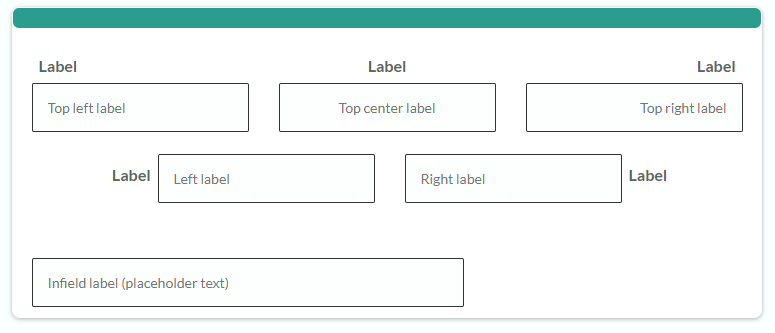 Formsite field labels