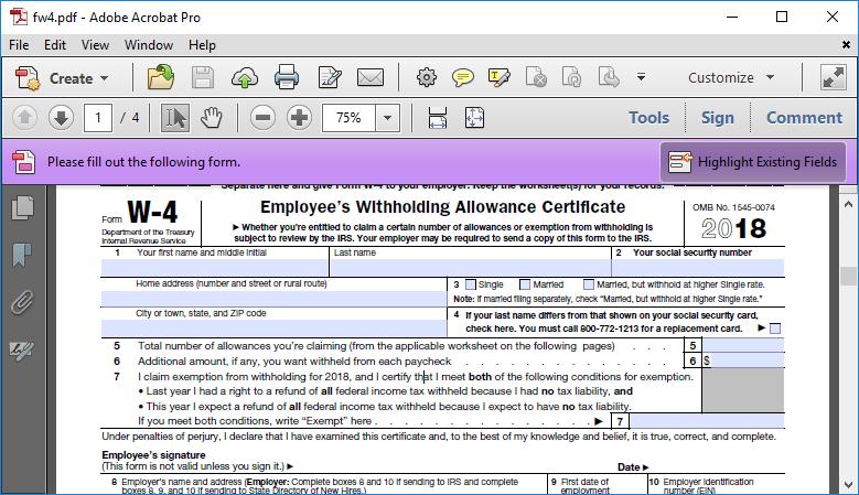 Formsite build PDF templates