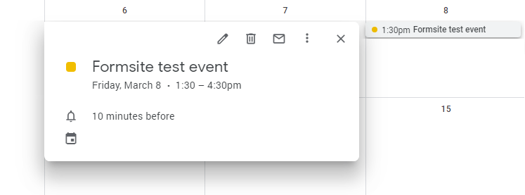 Google Calendar: Create Links to Schedule Events - Formsite Blog
