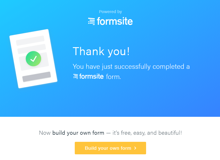 Formsite collect results