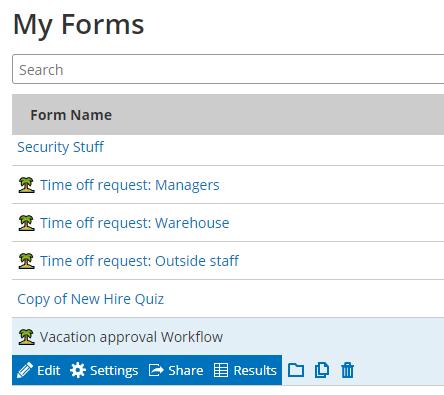 Formsite emojis form name