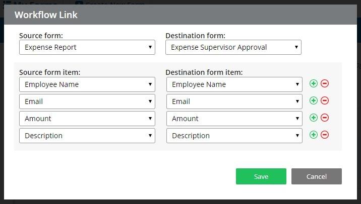 Formsite remote team workflow link