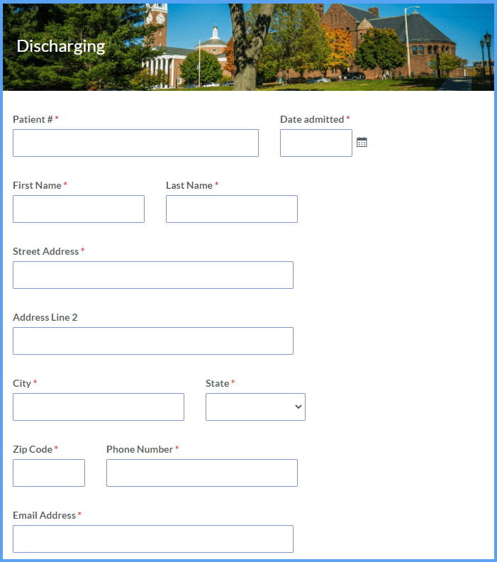 Hospital Discharge Templates