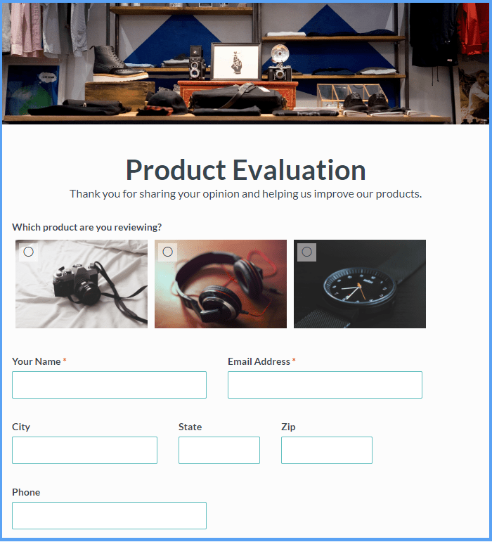 Product Survey Templates