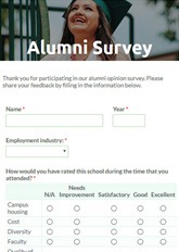 Alumni Feedback Form