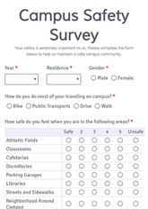 Campus Safety Survey