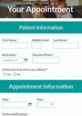 Doctor Appointment Form