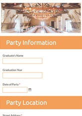 Event Service Order Form