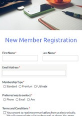 Club Signup Form