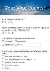 Political Survey Form