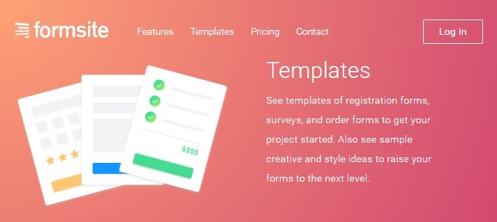 Formsite new templates