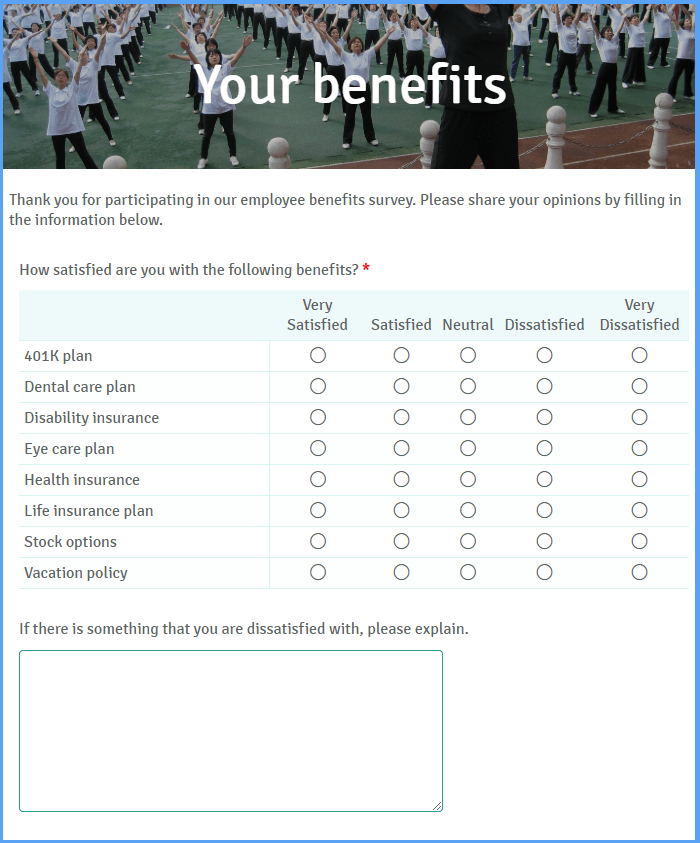 Survey Form Template from www.formsite.com
