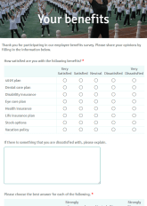 Employee Survey Form