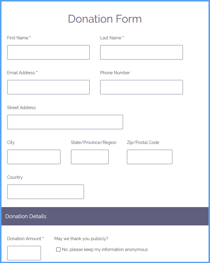 Donation Request Forms Template from www.formsite.com