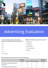 Ad Survey