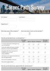 Career Path Survey