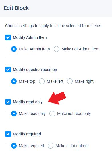 Formsite updates bulk edit items