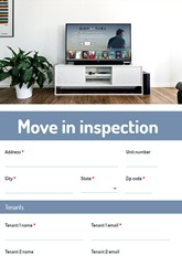 Move-In Inspection Form
